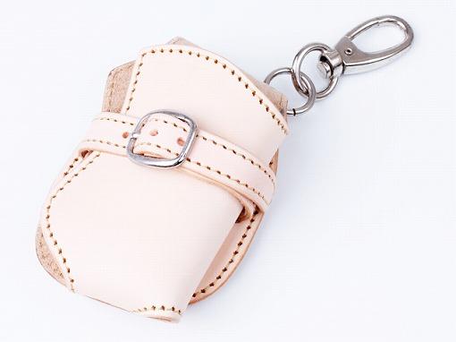 【WA-9319】 ★ ヌメ革シンプル 携帯ケース ★